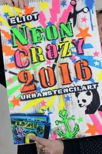 NEON CRAZY 2016 Calendar