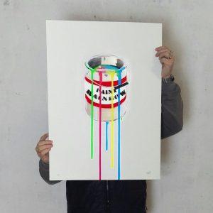 Neon Paint Bucket