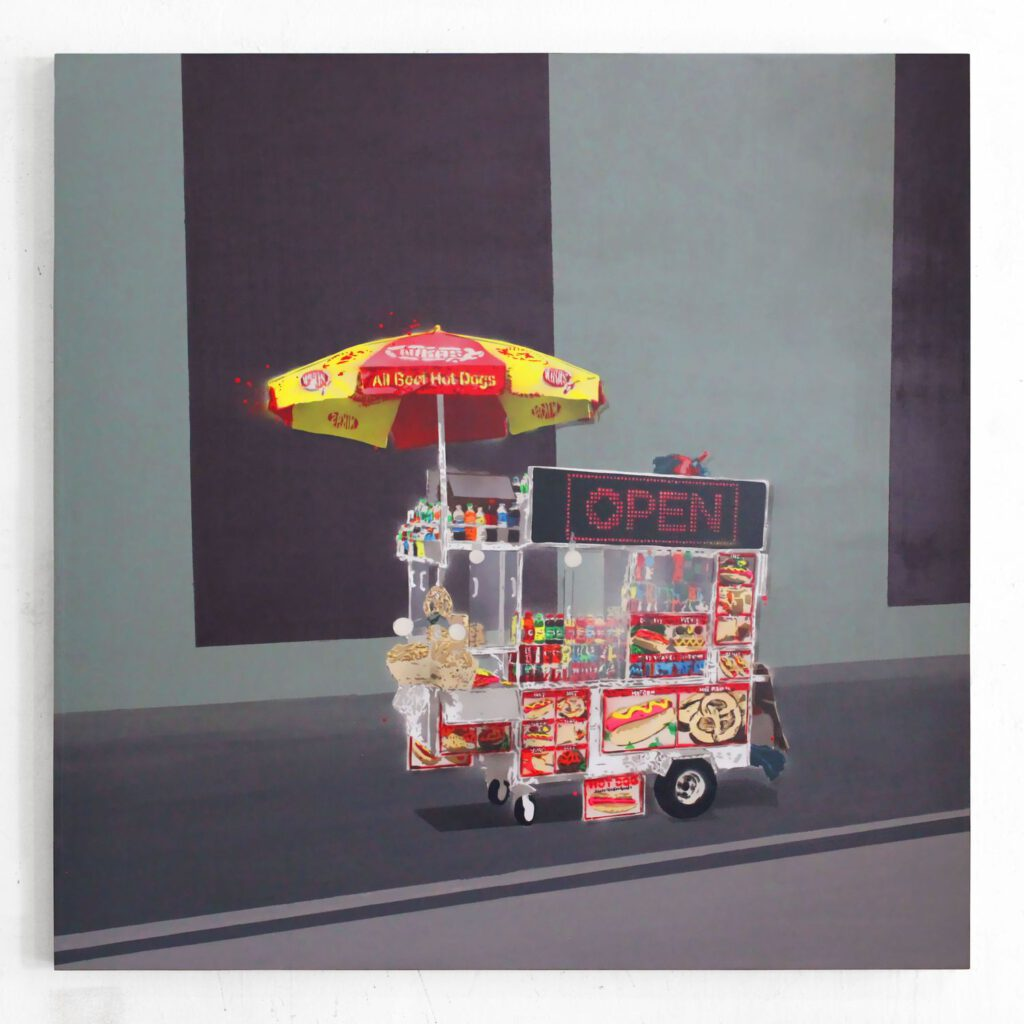 Hot Dog Cart III