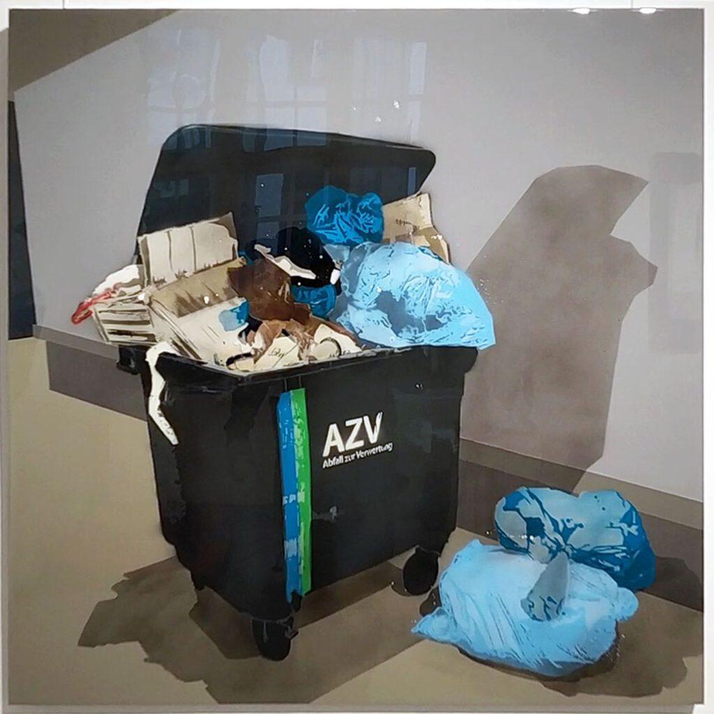 Trash Scenes: Mülltonne
