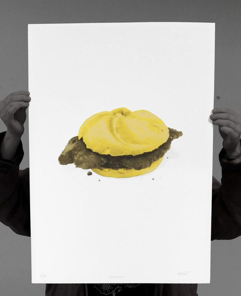 Schnitzel Semmel: Print